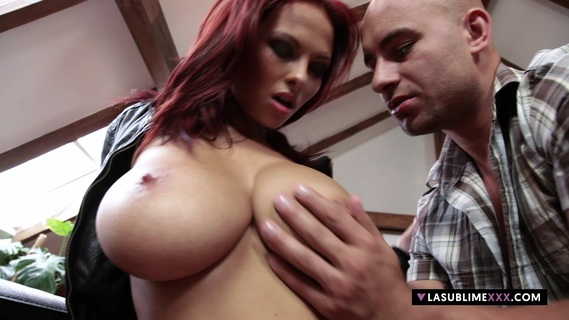 LaSublimeXXX Busty redhead Domino gets her pussy drill. Watch full length scene of busty redhead Domino while gets her pussy drilled in Full HD quality on lasublimexxx.com