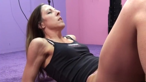 Horny pornstar Marie Madison in fabulous blowjob, brunette adult scene. Marie Madison is first to get her pussy licked and it doesn't take long for her hat wearing, lover to get her hot pink panties off so he can get down, between her smooth, long legs and begin slurping up the sex juices that began flowing as soon ans he arrived. The expressions on her face tell you the intensity of her enjoyment, right up to the orgasm.