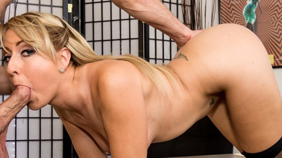 WANKZ- Juicy Ass Blond Secretary Valerie. WANKZ- Blond secretary Valerie White got a little too frisky with a coworker and everything was caught on security cameras Her boss Bill Bailey summons her to his office where he grills her about her indecent blowjob and orders her to demonstrate her cock sucking abilities on him
