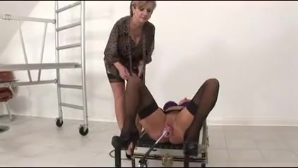Lady Sonia - Mia Experiences The Stretch. Lady Sonia - Mia Experiences The Stretch