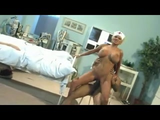 Sharon Pink - Nurse drilled by a darksome penis. Sharon Pink - Nurse drilled by a darksome penis