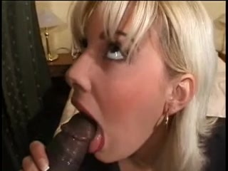 Jessica May vs monster. This blond mother i'd like to fuck takes on 2 gigantic,darksome ramrods. That Babe does anal and takes a facial from the one and the other.