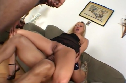Gabrielle Enjoys Getting Railed By Two Big Cocks. Mandy Bright