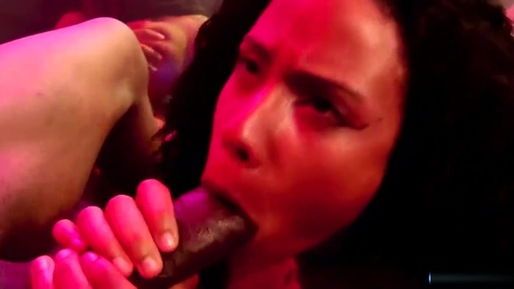 4 Black chicks suck and fuck in the bar. Quinn Quest,Chanell Heart,Misty Stone,Jezabel Vessir