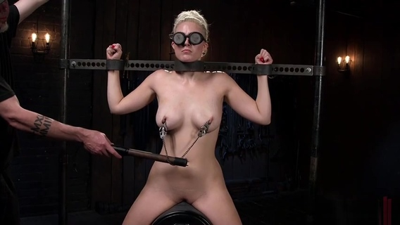 Supreme Jenna Ivory in hot BDSM scene. Jenna Ivory