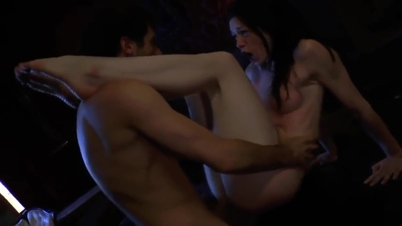 Charming brunette babe Stoya featuring hot sex action ending with cumshot. Charming brunette babe Stoya featuring hot sex action ending with cumshot