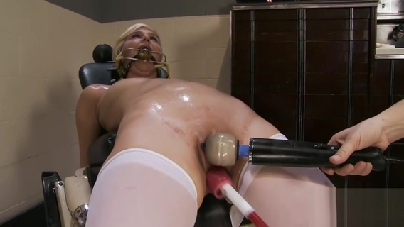 Good-looking blonde Chloe Camilla in fetish sex video. Chloe Camilla
