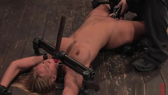 Pretty Mellanie Monroe in amazing BDSM XXX movie. Mellanie Monroe