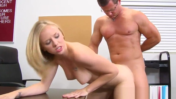 Cute schoolgirl Tracey Sweet gets banged. Tracey Sweet