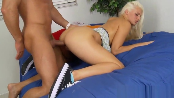 Hot blonde schoolgirl Macy Cartel gets nailed. Maci Lee