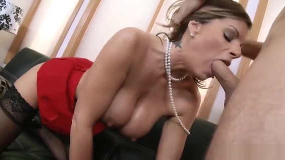 Snazzy shaved MILF Kristal Summers performing in handjob XXX video. Kristal Summers