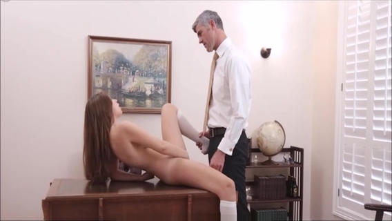 Young Mormon Teen Sister Orgasms For Church President. Elektra Rose