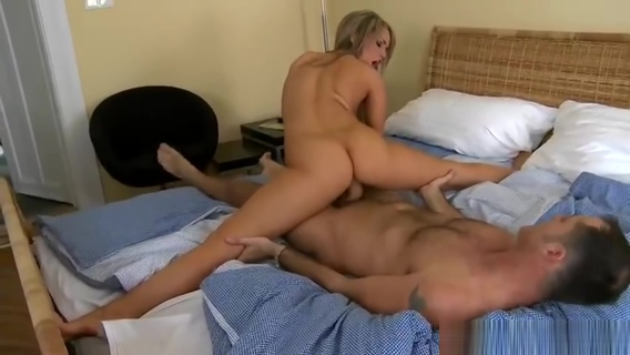 Unbelievable golden-haired Aleska Diamond is giving a blowjob. James Brossman,Aleska Diamond