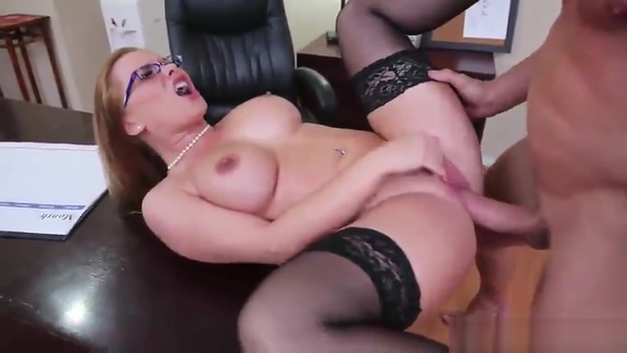 Milf taking part in hard fuck porno action in office. Katja Kassin,Billy Glide