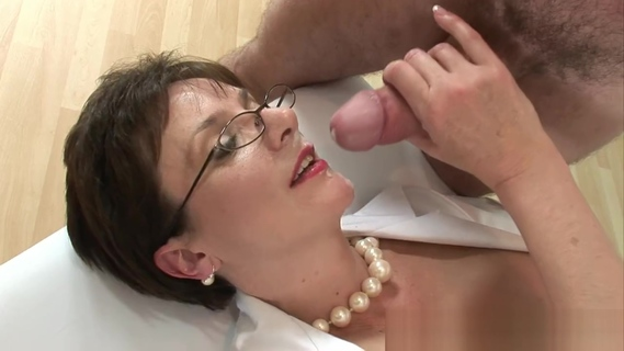 Lady Sonia Nurse Blows Young Man. Lady Sonia Nurse Blows Young Man