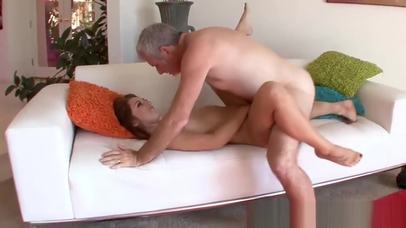 Naughty Ariana Grand seduces not stepdaddy into fucking her. Naughty Ariana Grand seduces not stepdaddy into fucking her