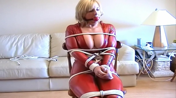 catsuit chairtied. catsuit chairtied