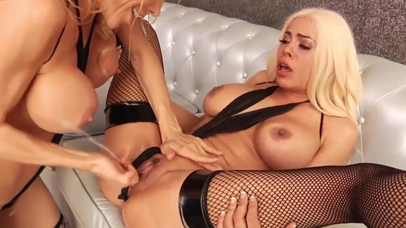 Girl Squirt Vol. 2 - Busty Blondes Luna Star and Alexis Fawx. Alexis Fawx,Luna Star
