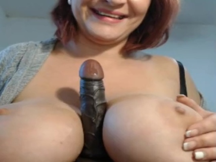 Milf with hot huge melons (Sexpotbambo) explodes with vibratoy. Milf with hot huge melons (Sexpotbambo) explodes with vibratoy