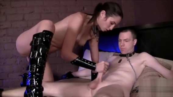 Chastity released and fucked by Amber Rayne. Amber Rayne