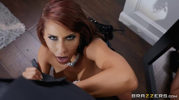 Madison Ivy was having a shower when her handsome lover stopped by to fuck her brains out. Madison Ivy