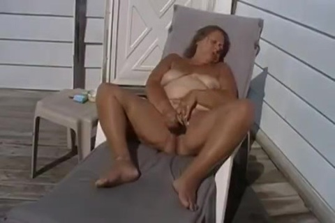 Grant's  outside tanning salon,. getting my tan lines on the deck, wishing for company to fill my pussy and mouth