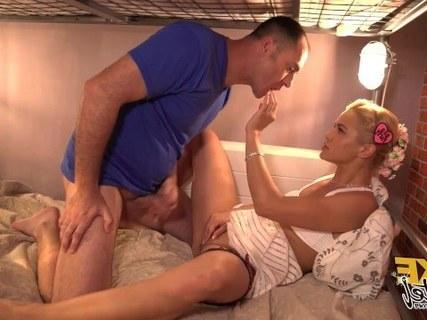 Анальный Секс С Красивой, Русской Блондинкой Cherry Kiss