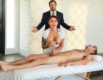 Молодая Брюнетка Занималась Порно Изменой С Потным Мачо У Которого Был Здоровенный Член Смотреть