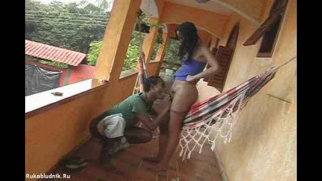 Фото секс в гамаке