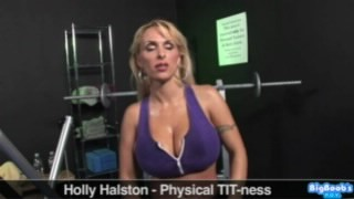 Bigboobspov holly halston physical tit ness — photo 13