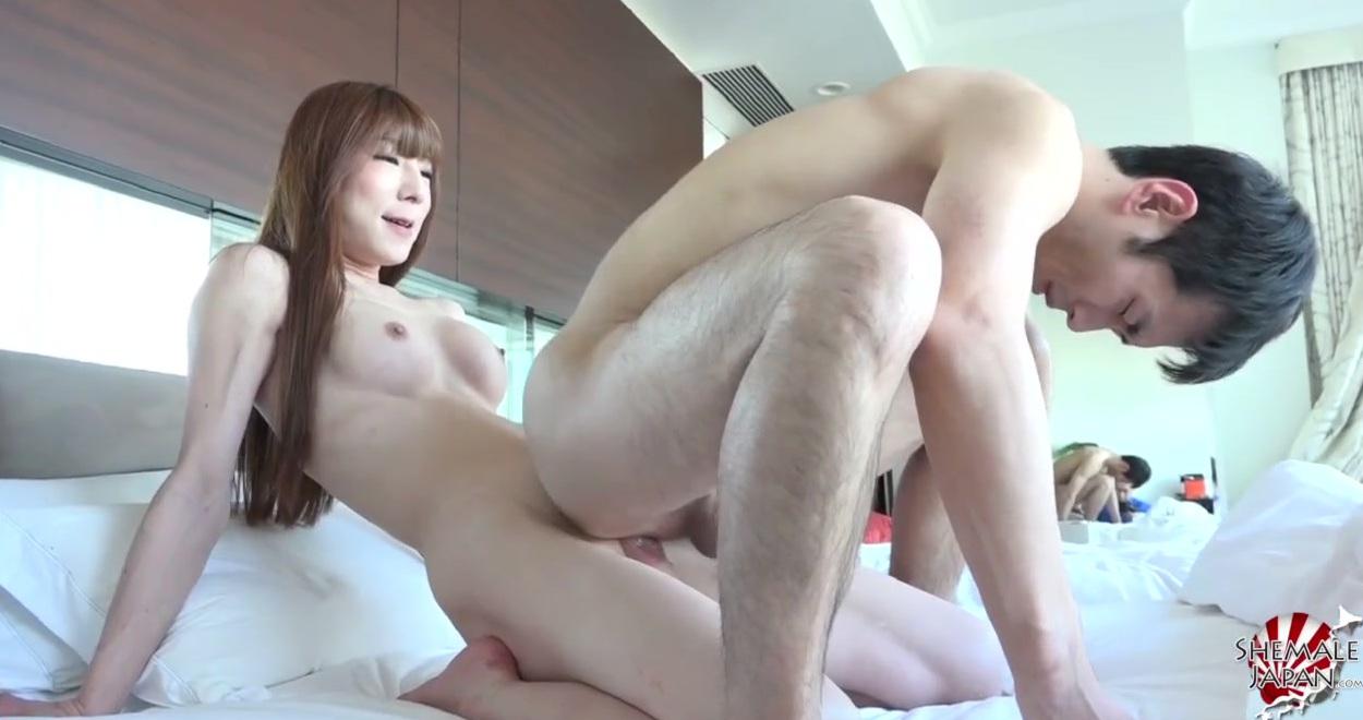Видео порно японских трансов
